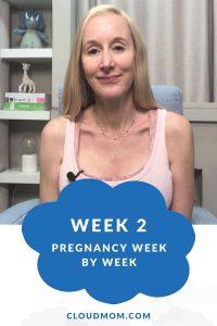Photo of Melissa for Pregnancy Week by Week Series, Week 2