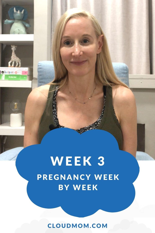 Week 3 My Pregnancy Week to Week