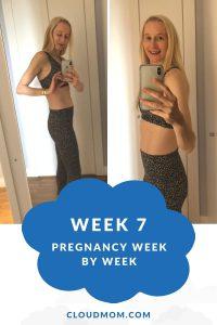 Melissa's Baby Bump, Week 7
