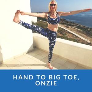 Standing Hand to Big Toe Pose