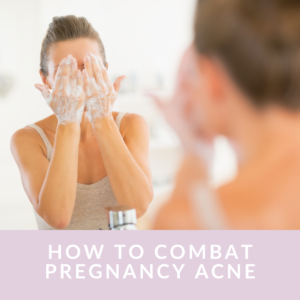 How can I treat my acne naturally while pregnant?