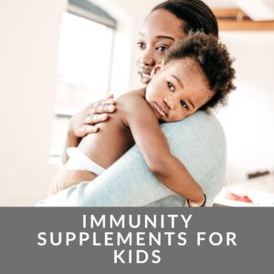 best vitamins for children's immune system