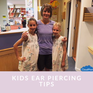 What is the best age to get a child's ears pierced?