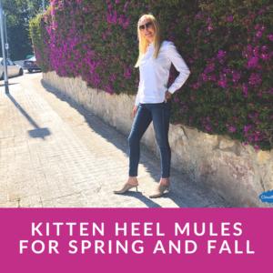 kitten heels sandals