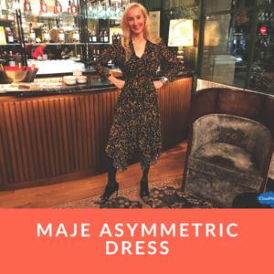 Maje Asymmetric Dress