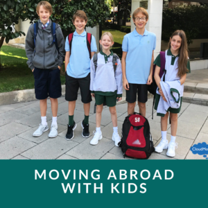 living abroad for a year with family