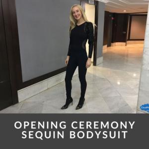 Opening Ceremony Sequin Bodysuit