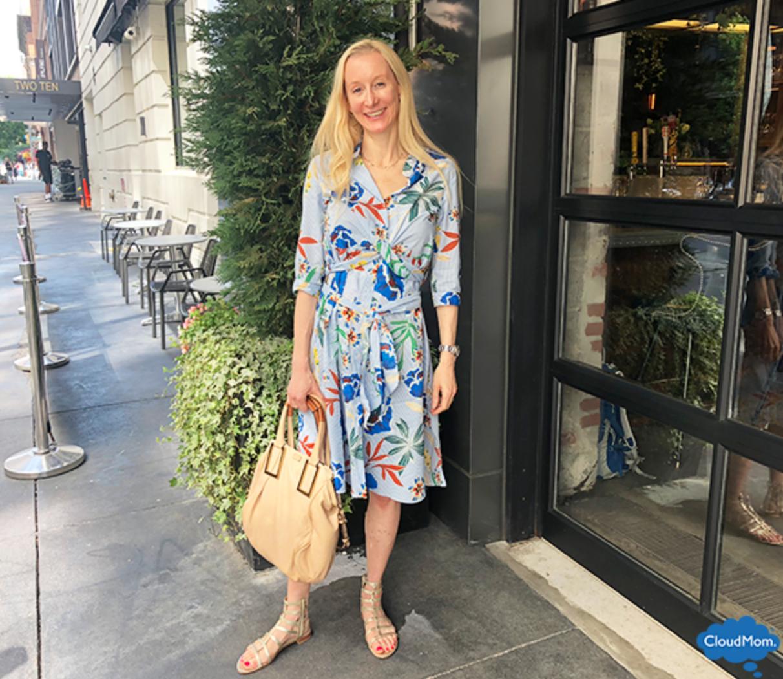 Zara Floral Print Dress for Summer