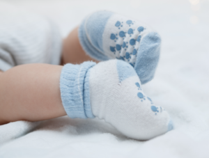 baby sock 0-3 months