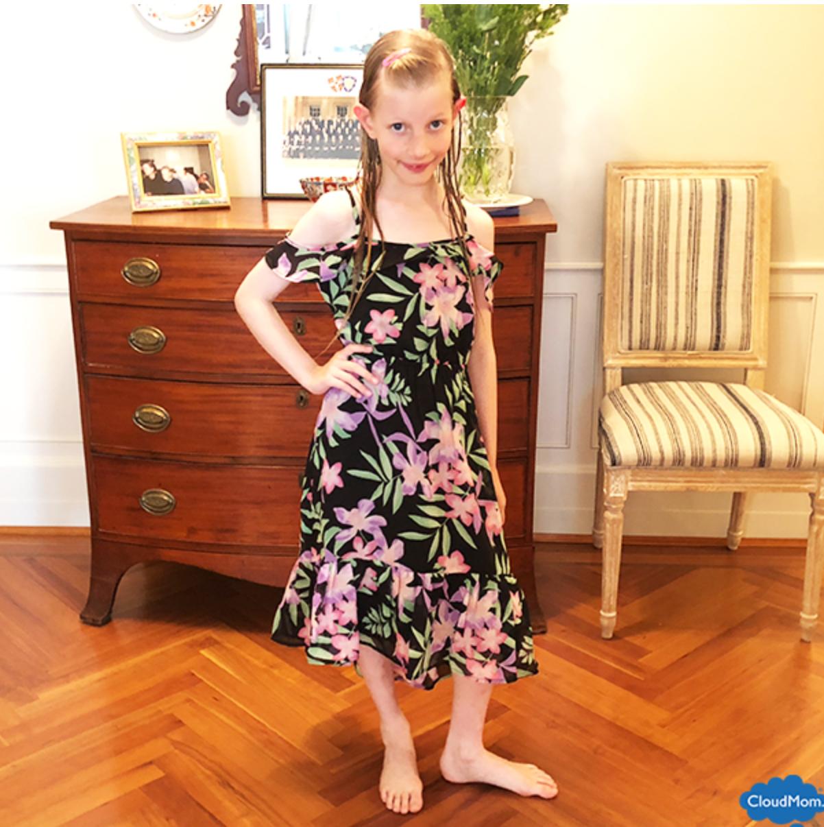 Summer Floral Dresses for Girls