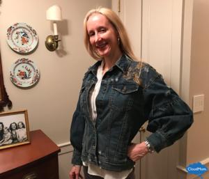 Zara Embroidered Jean Jacket Giveaway