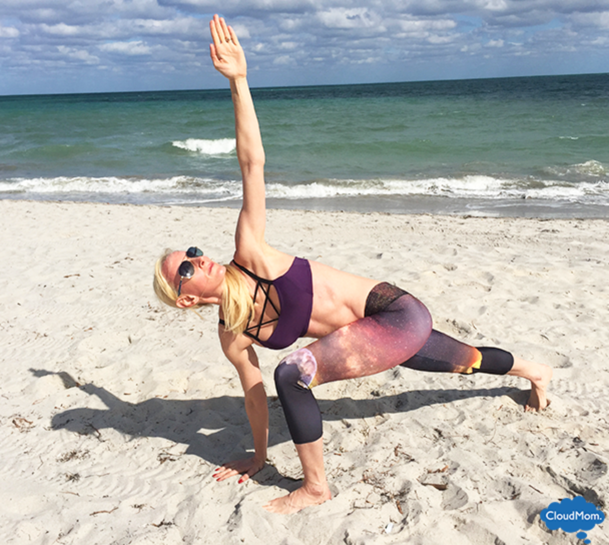 How to do Twisting Lunge -- Onzie