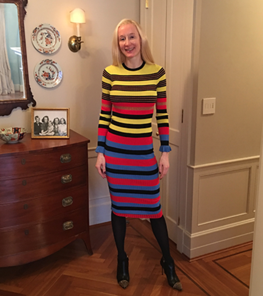 Multi-Colored Opening Ceremony Dress