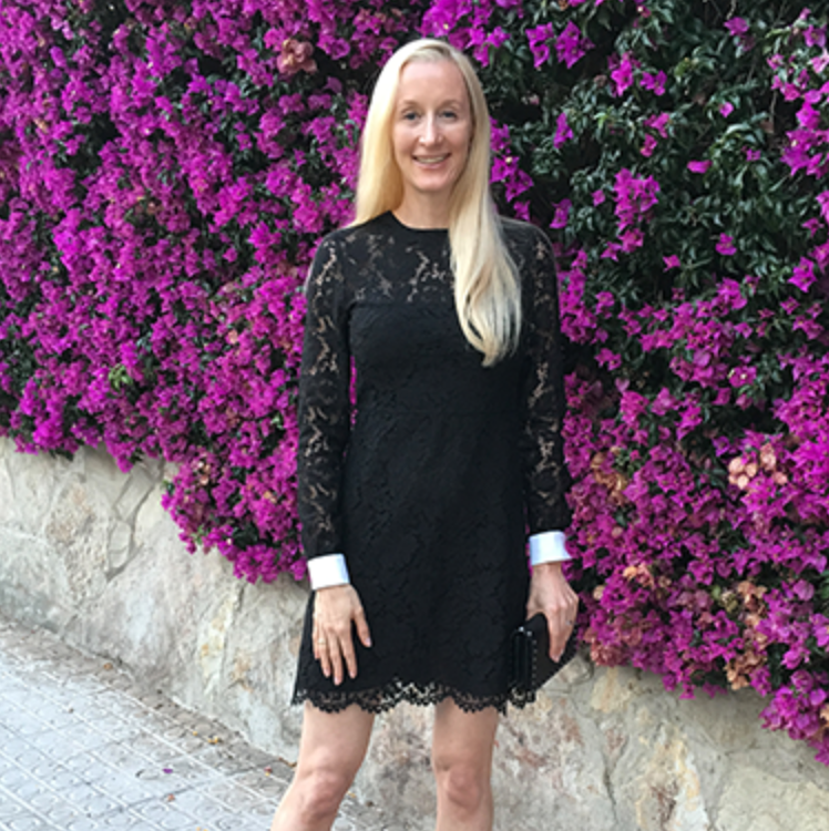 Spanish Black Lace for Anniversary Dinner