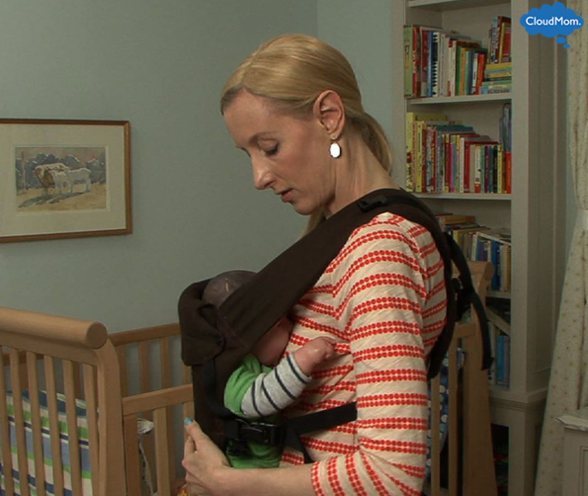 How to Breastfeed in a Beco Gemini Baby Carrier