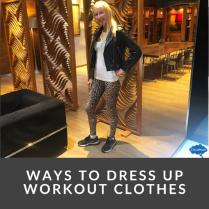 Ways to Dress up Workout Clothes
