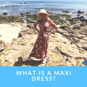 What type of dress is a maxi dress?