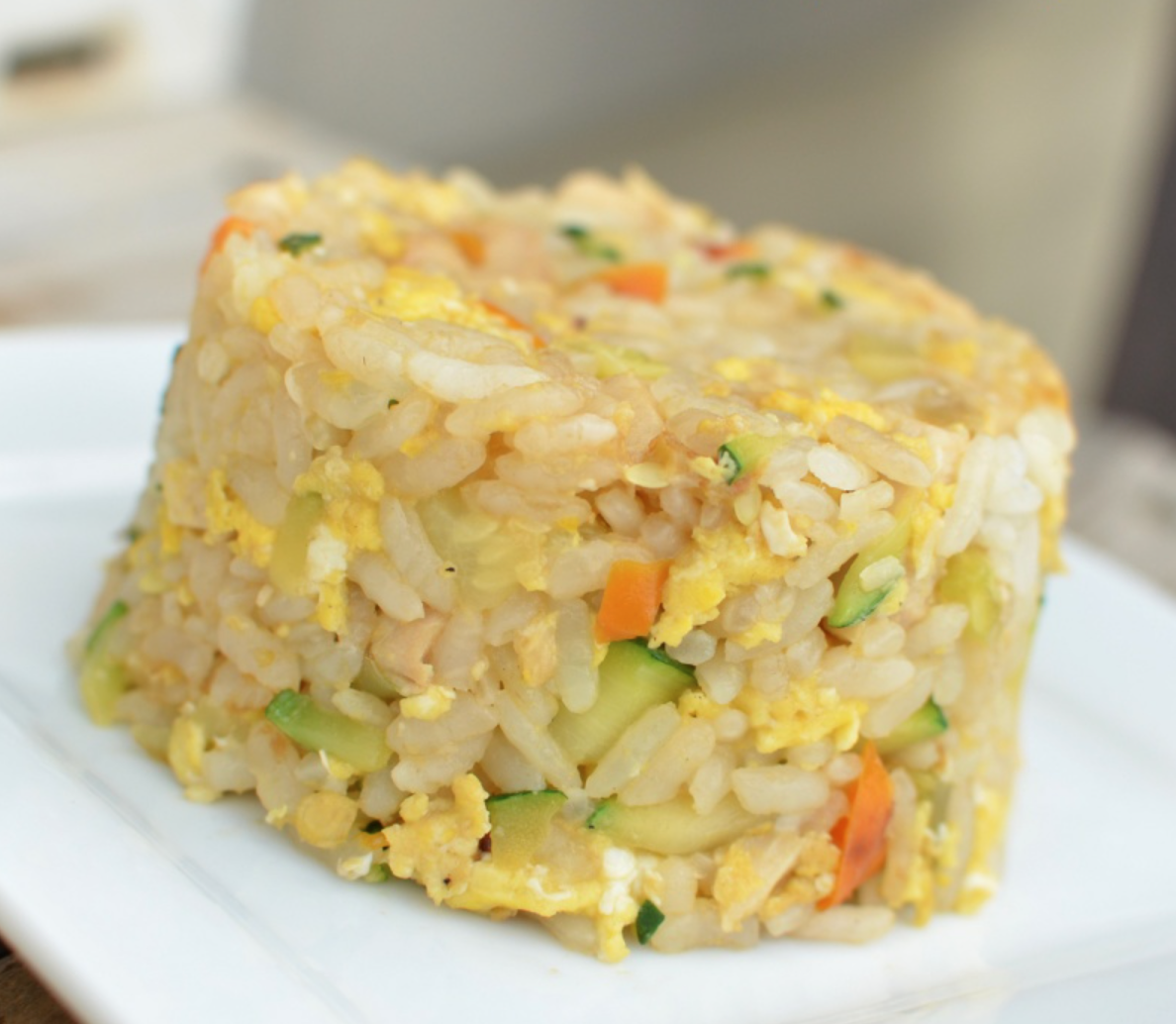 Recipe: Healthy Fried Rice Energy Bites