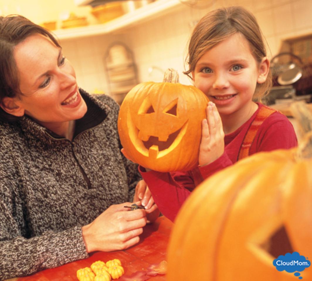 Halloween Jack-o'-Lanterns With the Kids!